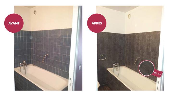 Revêtement surface - Salle de bain