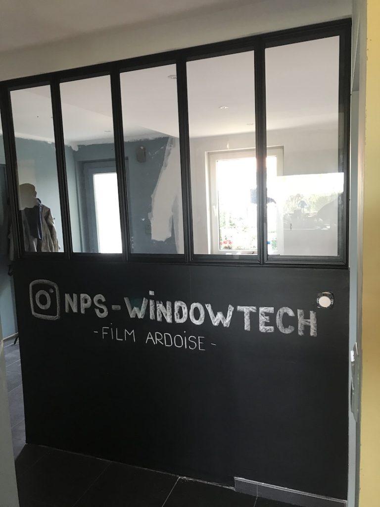 Film tableau noir - NPS Window Tech - Films et stores pour vitrage - Région Lilloise (59) - nord