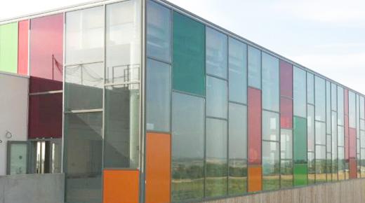 Film couleur transparent - Piscine Municipale